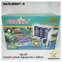 HANG ON FILTER NIKITA NS-07 / FILTER GANTUNG+SKIMMER AQUARIUM AQUASCAP