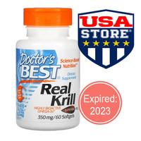 Doctor's Best Real Krill oil Superba Antarctic Omega-3 DHA EPA doctor