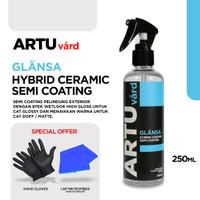 ARTU Vard GLANSA Hybrid Ceramic Semi Coating Pelindung Set