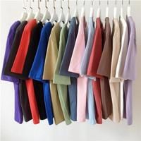 Kaos Polos Pria Bahan Cotton Combed 30s Premium Korea 100% SuperSoft - Hitam, S