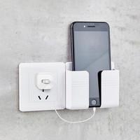Phone Holder Charger Tempat Hp Dinding Saat Charging Rak Hanger HP