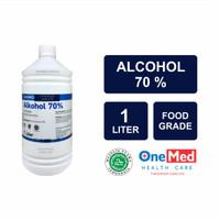 Alkohol 70% Onemed 1 Liter Antiseptik Alcohol 70 % 1000 mL Halal