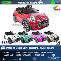 KHUSUS GOJEK Mainan Anak Mobil Aki PMB 7188 Mini Cooper Mortein M-7188
