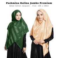 Kerudung Kalina SquarePremium Part I Hijab Segiempat Syari Jumbo Mewah