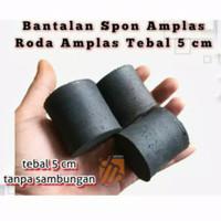 Roda Bantalan Amplas Spon Eva Bulat Tebal 5cm