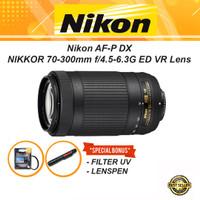 Lensa Nikon AF-P DX NIKKOR 70-300mm f4.5-6.3G ED Lens TeleZoom