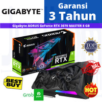 VGA Gigabyte GeForce RTX 3070 AORUS Master 8G 8GB GDDR6