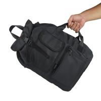 SOLANDO Backpack and messenger bag-KATWA-nylon polyester - Hitam