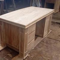 meja kantor, meja kerja panjang 200cm atau 2 meter