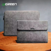 Laptop Asus ZenBook Pro Duo UX581 14 Tas Sleeve Cover Leather Domba