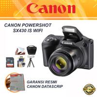 Canon PowerShot SX430 IS Wifi PAKET BONUS - Kamera Semipro sx 430