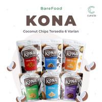 BAREFOOD KONA COCONUT CHIPS KERIPIK KELAPA   SNACK CEMILAN DIET SEHAT
