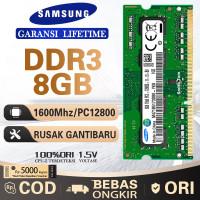 RAM MEMORY SAMSUNG NOTEBOOK LAPTOP DDR3 8GB 1600