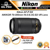 Lensa Nikon AF-P DX NIKKOR 70-300mm f4.5-6.3G ED Lens Tele Zoom