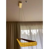 Pendant Lamp / Lampu Gantung Hias Dekorasi Ruang Makan Modern Luxury - GOLD