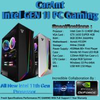 PC GAMING   Intel Core i5-11400F   GTX 1650 SUPER   8GB RAM   NVme