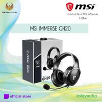 MSI IMMERSE GH20 GAMING Headset Garansi Resmi MSI Indonesia 1 thn