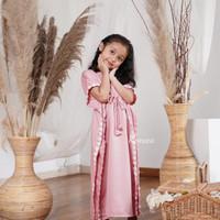 Harga Promo Kaftan Bayi Kaftan Anak Dewasa Baju Lebaran Couple KF01