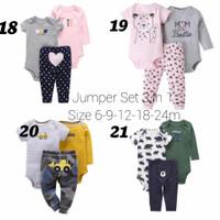 Baju Bayi Carters Original Set Celana panjang dan jumper