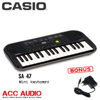 Keyboard Mini CASIO SA-47 / SA47 + adaptor