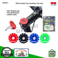 Top Cap Cover Tutup Stem Headset Aksesoris Sepeda MTB Road Bike