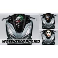 Sticker Windshield | Stiker Visor Decal PCX160 PCX150 JOKER