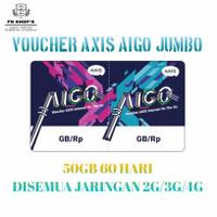 Kuota Axis Bronet 50 GB 60 Hari Full Reguler 24 Jam Jaringan 3G/4G