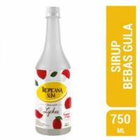 Tropicana Slim Sirup Bebas Gula Rasa Leci 750 ml