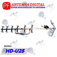Anten Antena Antenna TV Digital Outdoor Luar PF HDU HD U 25 U25 HDU25