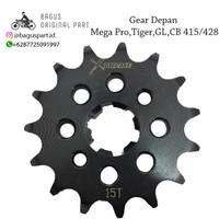 GIR GEAR DEPAN MEGAPRO GL CB 520 428 415 H 13 14 15 16 Xtreme not sss