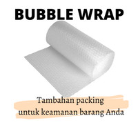 Bubble Wrap untuk tambahan packing