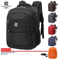 Bruno Cavalli Tas Ransel Laptop Tas Punggung Expandable / Ukuran Besar