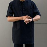baju kemeja koko lengan pendek fashion muslim pria jumbo xxl xxxl