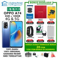 OPPO A74 5G & 4G 6/128 GB A 74 RAM 6GB ROM 128GB GARANSI RESMI