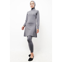 Td Active LSA23 Set Baju Renang Set Hijab Muslim Hijab Atasan Legging
