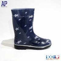 AP 2012 BLUE STAR 15.0-18.0 - SEPATU BOOTS KARET ANAK - AP BOOTS