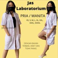 jas laboratorium baju laboratorium PRIA /WANITA -TANGAN PANJANG/PENDEK