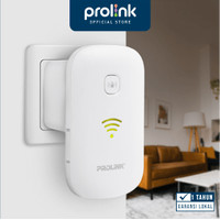 PROLINK WiFi Repeater AP Router 3 in 1 Penguat Sinyal extender PEN1201 - Putih