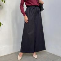 Dera Kulot Besar Bahan Katun Linen | Celana Kulot Jumbo XXL