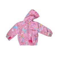 Jacket Windbreaker Unicorn / Jaket Windbreaker Anak Perempuan - MOEJOE