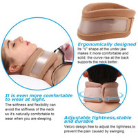 Neck Support Sabuk Bantal Terapi Leher Alat Penahan Penyangga Leher