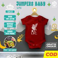 Stelan baju bola anak bayi baby baru lahir laki laki karakter LFC
