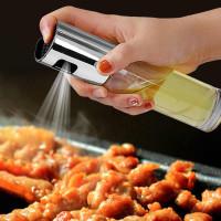 Oil Spray Bottle Botol Kaca Sprayer Minyak Cocok Untuk Air Fryer