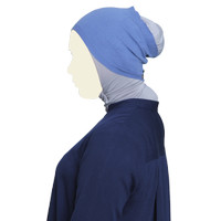 L.tru HEADBAND Knitting ESSENTIAL Blue Nw