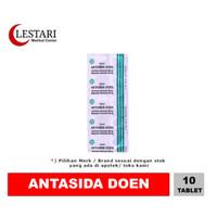 Antasida Doen [ Strip / 10 Tablet ]