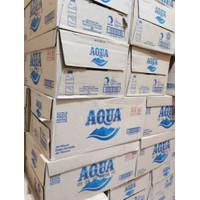 Aqua botol 330ml 24pcs air mineral botol 330 ml 24 pcs 1 dus