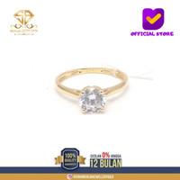 SBJ21 - cincin emas kuning asli wanita terbaru 17K/700 CMK 191 R12