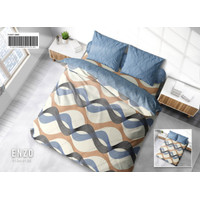 BED COVER SET MY LOVE EXTRA KING SIZE 200 X 200 T30 - TRIANGLES NEW