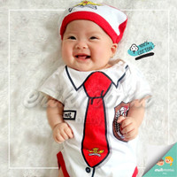 baju bayi jumper bayi karakter SD lucu