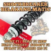 SHOCKBREAKER BELAKANG HONDA K25 BUAT BEAT FI , SCOOPY FI , SPACY FI